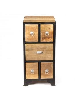 Chevet - 5 tiroirs