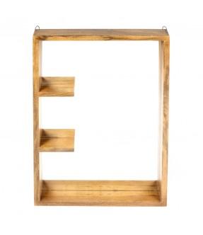 Miroir avec petits plateaux
