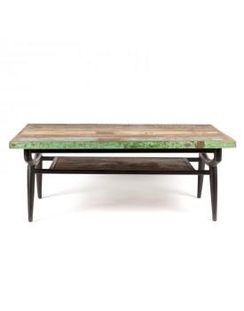 Table - 2 plateaux-vue1