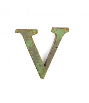 Iron letter V